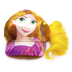 Disney Princess Rapunzel Cap w/hair image here
