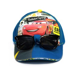 Disney Cars Cap with Sunglasses image here
