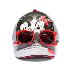 Disney Minnie Cap with Sunglasses image here