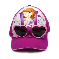 Disney Sofia Cap with Sunglasses image here