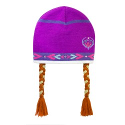 Disney Anna Beanie with Hair image here