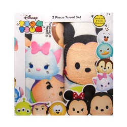 Tsum Tsum 2 pc. Towel Set image here