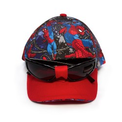 Marvel Spiderman Cap with Sunglasses image here