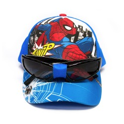 Marvel Spiderman Cap with Sunglasses,SPCS002 image here
