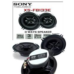 SONY XS-FB133E 3 WAY COAXIAL SPEAKER  image here