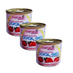 CALIFORNIA SCENT COOL GEL 4.5OZ STRAWBERRIES AND CREAM 128g  image here