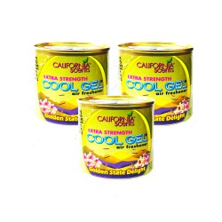 CALIFORNIA SCENT COOL GEL 4.5OZ GOLDEN STATE DELIGHT 128g  image here