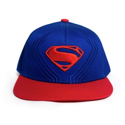 Justice League | Superman Embroidered Cap image here