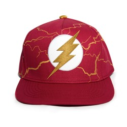 Justice League | The Flash Embroidered Cap, Red, TFCC001 image here