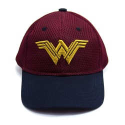 Justice League | Wonder Woman Embroidered Cap,WWEC001 image here