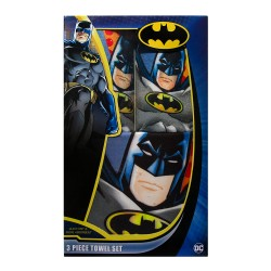 Justice League,Batman 3 pc. Towel Set,BBT001 image here
