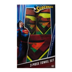 Superman 3pc. Towel Set image here