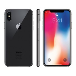 iPhone X 256GB Space Grey image here