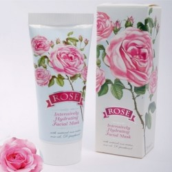 Bulgarian Rose Series | Intensively Hydrating Face Mask  image here