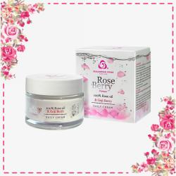 Bulgarian Rose | Rose Berry Nature Series Moisturizing Day Cream,BR026 image here