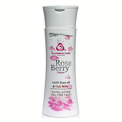 Bulgarian Rose | Rose Berry Nature Series Exfoliating Gel for Face image here