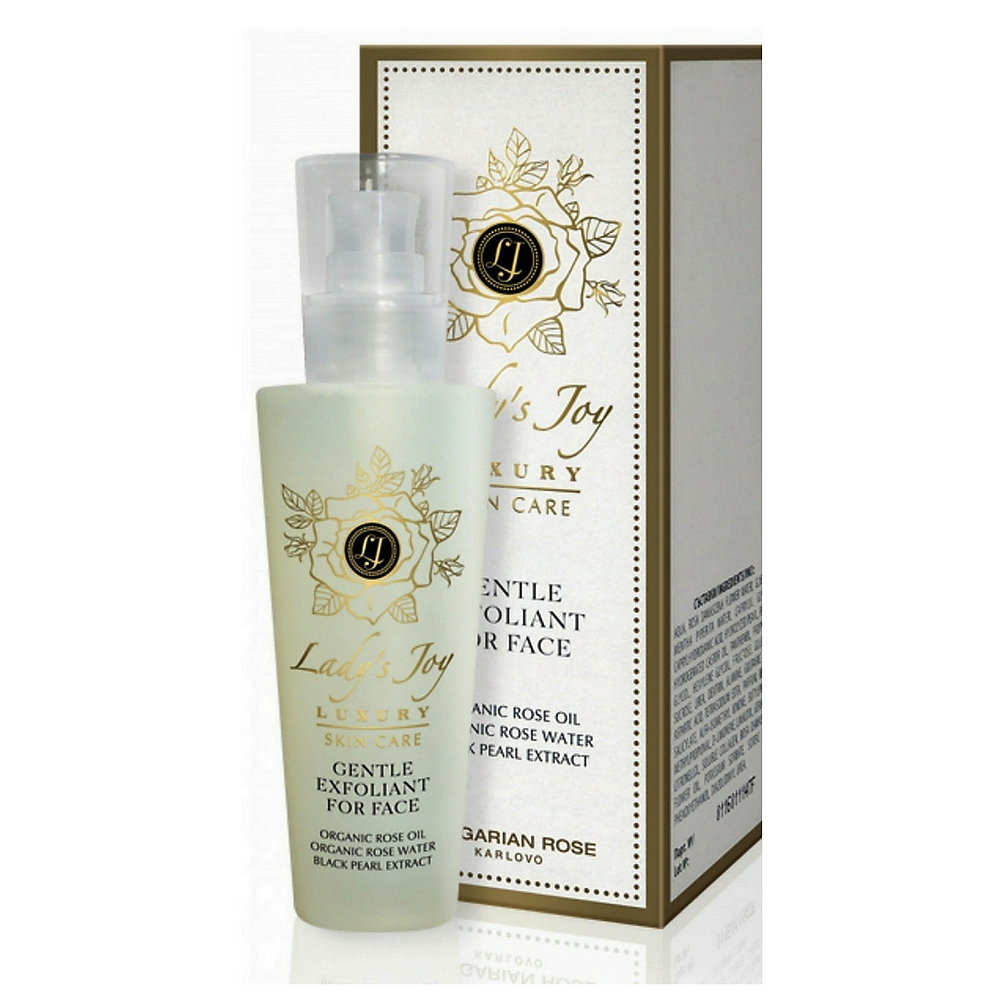 Bulgarian Rose | Lady's Joy Luxury Series Gentle Exfoliant for the Face image here