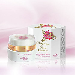 Bulgarian Rose - Signature Whitening Cream. Certified by ISPE image here