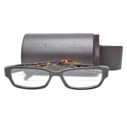 Trussardi Plastic Frame Sunglasses 12505 BK 53 B image here