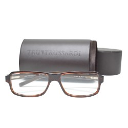Trussardi Plastic Frame Sunglasses 12729 BR 54 B image here