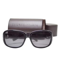 Trussardi Plasstic Sunglasses 12833 BK 58 G image here