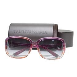 Trussardi Plasstic Sunglasses 12833 PU 58 G image here