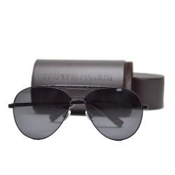 Trussardi Metal Sunglasses 12904 BK 59 G image here