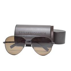 Trussardi Metal Sunglasses 12904 BR 59 G image here