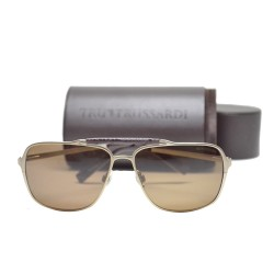 Trussardi Metal Sunglasses 12905 GD 60 G image here