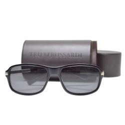 Trussardi Plasstic Sunglasses 12909 BK 57 G image here