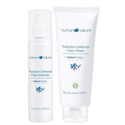 Pollution Defense Face Cleanser and Mask image here