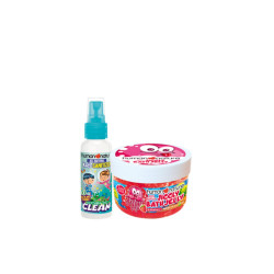 Human Nature Jiggly Bath Jelly + Kids Sanitizer Duo,FGZZ190119 image here