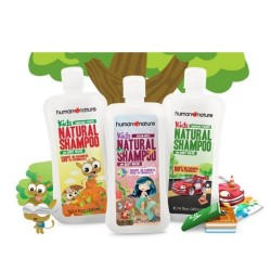 Kids Natural Shampoo & Body Wash Apple 400 ml image here
