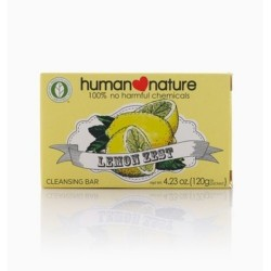 Human Nature,Scented Cleansing Bar Lemon Zest,HNPH110 image here