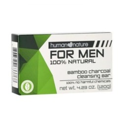 Human Nature,Bamboo Charcoal Cleansing Bar for Men,HNPH122 image here