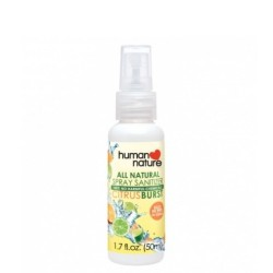 Human Nature,All-Natural Sanitizer Citrus Burst,HNPH134 image here