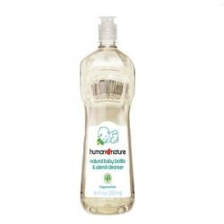 Human Nature,Baby Bottle & Utensil Cleanser,HN-BottleCleanser500 image here