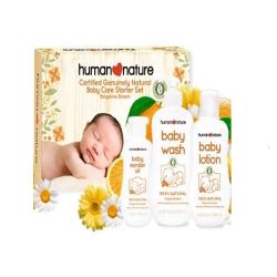 Human Nature,Tangerine Dream Baby Care Starter Set,HN-TangerineSet image here