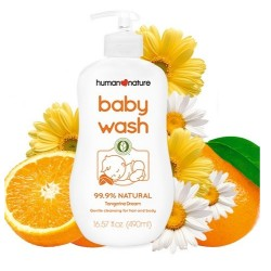 Human Nature,Tangerine Dream Baby Wash 490mL,HN-TangerineWash190 image here