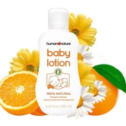 Human Nature,Tangerine Dream Baby Lotion 190mL,HN-TangerineLotion190 image here