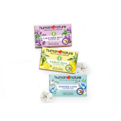 Human Nature Scented Cleansing Bars Trio,FGZZ190130 image here