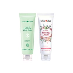 Human Nature,Cooling Leg & Body Cream with Shaving Cream,HN-CoolingLegShavingCream image here