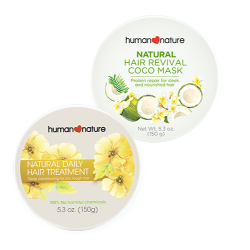 Human Nature,Hair Revival Coco Mask with Daily Hair Treatment,HN-CocoMaskHairTreatment image here