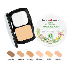 Perfect Coverage Foundation with Bare Necessity Cleansing Balm image here