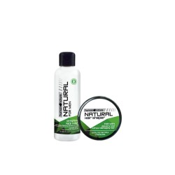 Oil-Fighting Face Wash 100ml with Hair Shaper for Men image here