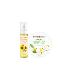 Human Nature,Human Nature Coco Hair Mask + Hair Serum Bundle,FGZZ190125 image here