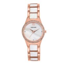 Armitron  Women Rose Gold/Pearl Metal Strap Analog Watch 75/5468MPRG image here