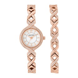 Armitron  Women Rose Gold Metal Strap Analog Watch 75/5412WTRGST image here