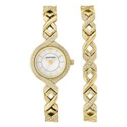 Armitron  Women Gold Metal Strap Analog Watch 75/5412WTGPST image here