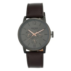 Armitron  Men Dark Brown Genuine Leather Strap Chronograph Watch 20/5217DGDGBN image here